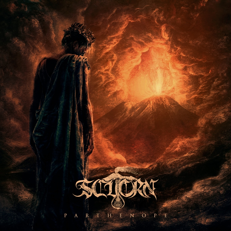 Scuorn Parthenope Album Cover 2017 Dusktone
